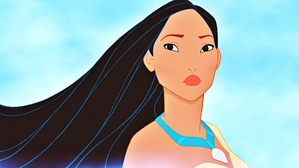 The beautiful Pocahontas