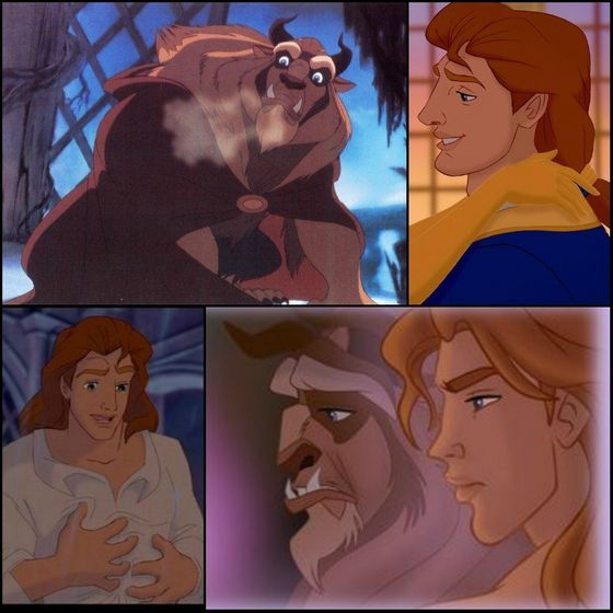 10. Adam/Beast (Beauty & the Beast)
