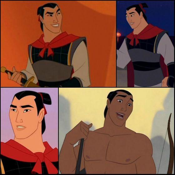 1. Shang (Mulan)