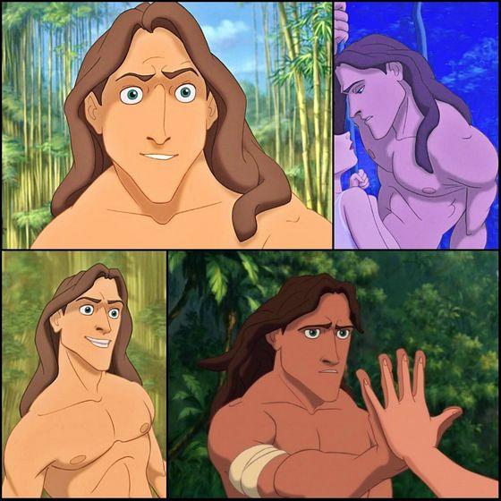 3. Tarzan (Tarzan)