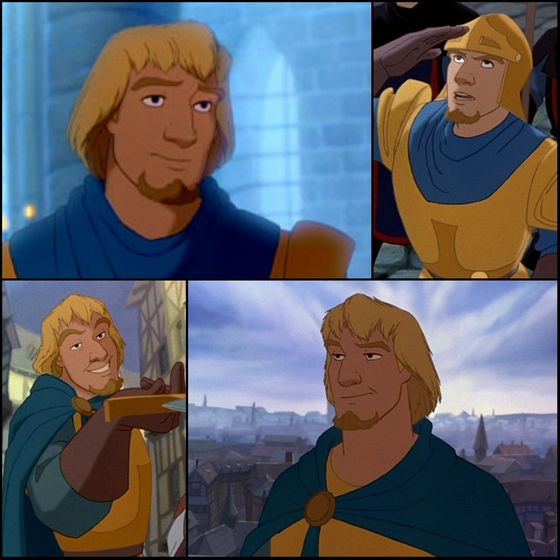10. Phoebus (The Hunchback of Notre-Dame) - 58 points