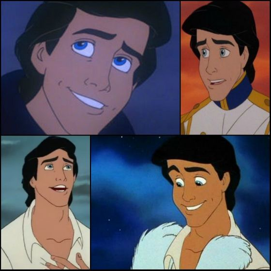 3. Eric (The Little Mermaid) - 142 points