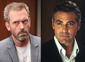 "George Clooney and Hugh Laurie will face off as adversaries in ""Tomorrowland""."