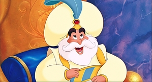 The Sultan, ruler of Agrabah.