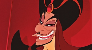 The evil vizier, Jafar.
