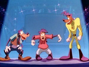 I was hoping a Goofy Movie song would make it on the lista somewhere.