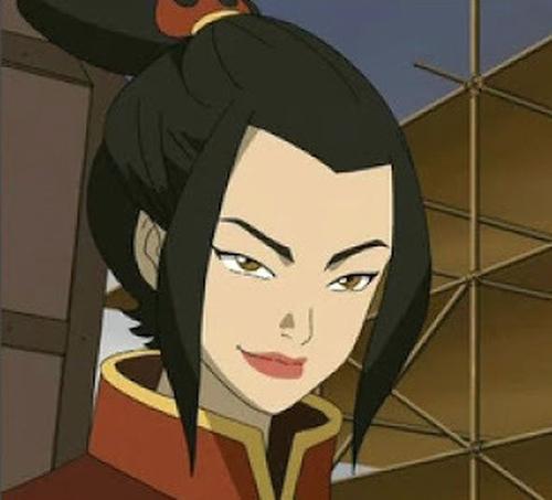 3. Azula (Avatar: The Last Airbender)