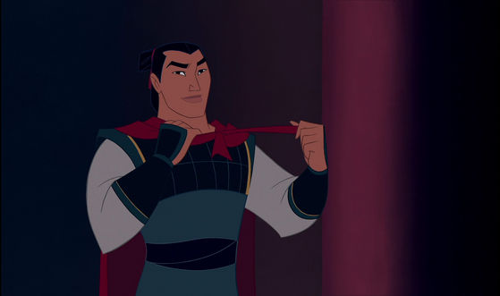 Captain Li Shang. Hm. Leader of China's finest troops. No, the greatest troops of all time.