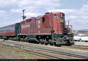 A Norfolk & Western GP9