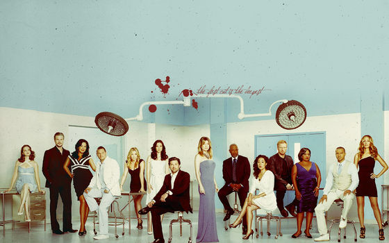 April, Mark, Callie, Alex, Arizona, Lexie, Derek, Meredith, Richard, Christina,Owen, Miranda, Jackson, Teddy