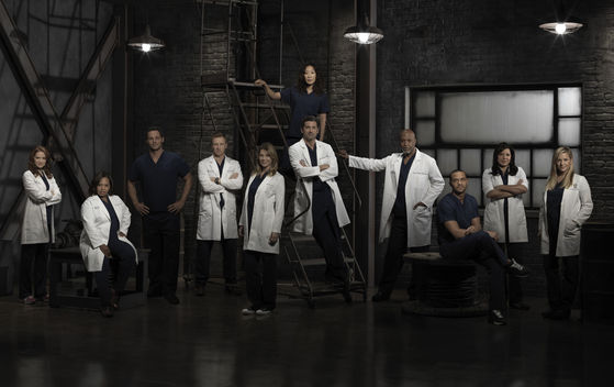 April, Miranda, Alex, Owen, Meredith, Derek, Christina, Richard, Jackson, Callie, Arizona
