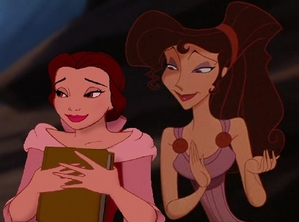 """Belle, you've gone kulay-rosas as your dress!"""