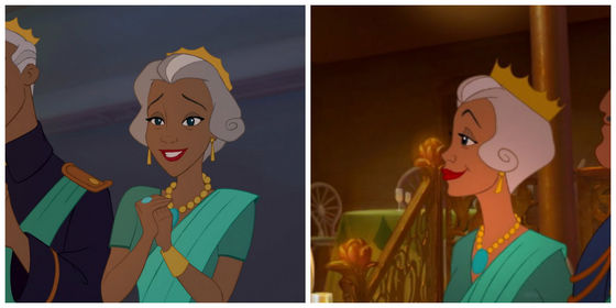 6. Naveen's mother. Beautiful despite the grey hair.