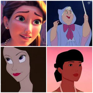 Who will be the most beautiful of all the non-princess?