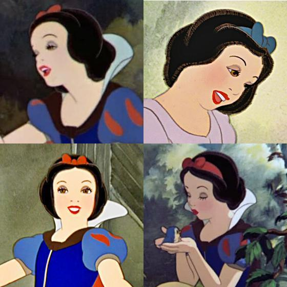 Snow White - She's not very attractive..