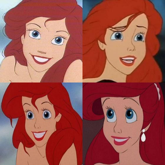 Ariel - In the bottom right picture she looks ugly, but otherwise, she's GORGEOUS