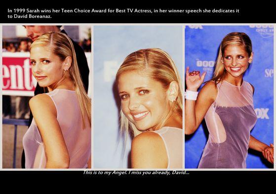 Sarah at Teen Choice Awards 1999