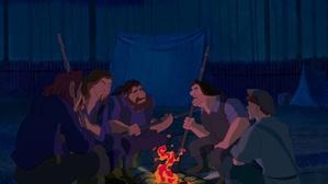 Talk among the men