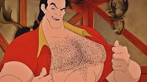 Gaston, just put your рубашка back on and leave