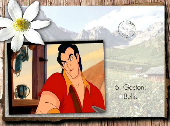 """Belle is in my superiore, in alto 5 of preferito Disney's song! and Gaston's part is really funny!"" - BraBrief"