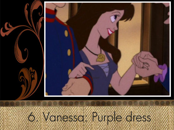 """Vanessa's purple dress deserves to win!"" - BraBrief"