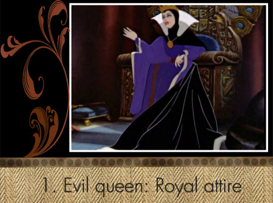 """I hope the Evil Queen's atire doesn't go, it's the best!"" - Animated_Paint"