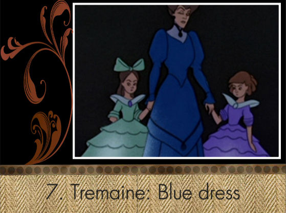 """The dress fits to Tremaine, but it's very ugly."" - Sirea"