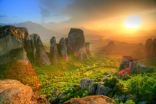 Meteora in Thessaly
