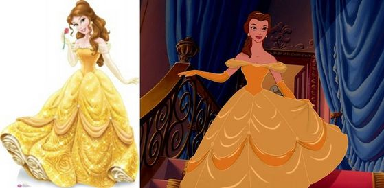 It's a testament to how wildly innacurate these are that Belle is all the way at three