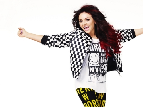 """I try to never compare myself to other people. I just think, This is who I am! You're happier when آپ think that way.""-Jesy"