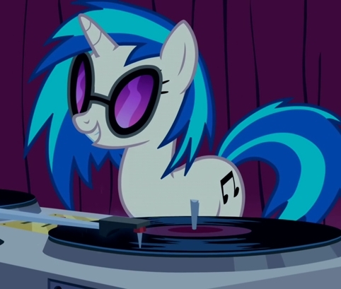 dj pon 3 the naked dj with shades. you cant explain that