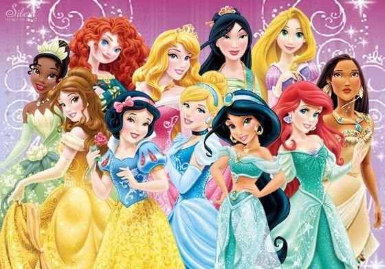 The 11 disney Princesses