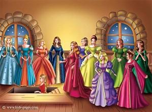 Twelve Dancing Princess
