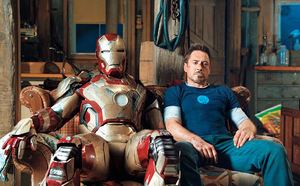 'IRON' GIANT The third installment in the Iron Man series is poised to be a both financial and critical success.
