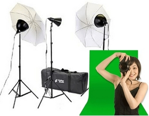 Green Screen Studio Kit
