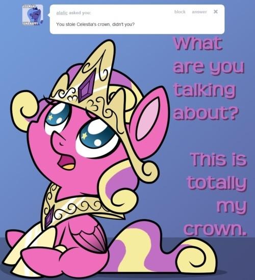 She stole Celestia s Crown  My Little Pony Princess Skyla Episode