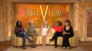 "Sarah on ""The View"" in 2008"