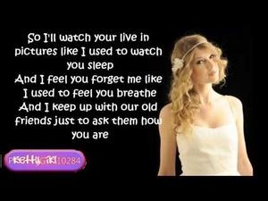 Tay <3 last Kiss with lyrics