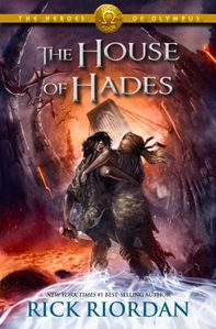 Official Cover Art for House of Hades. Doesn't it look beautiful and heart-wrenching? :D