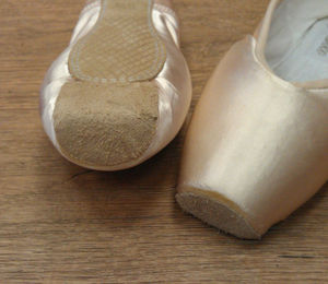 unbroken pointe shoes
