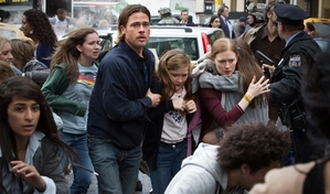 Brad Pitt fights to save his family and the human race in World War Z
