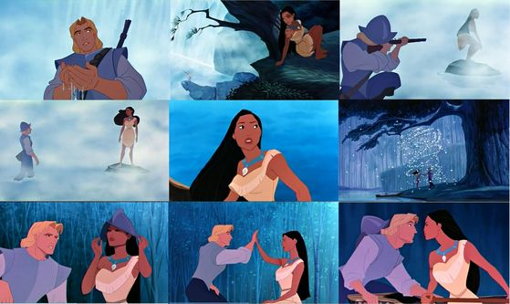 pocahontas analysis In pocahontas, disney portrays stereotypes on women's role in society and also gives an inaccurate account of real life events,  analysis of savages.