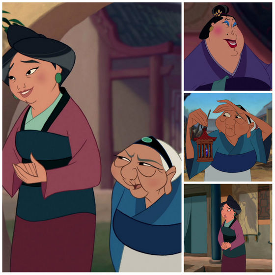 The many sides of women in mulan