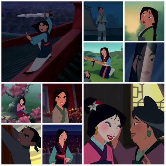 The many sides of mulan