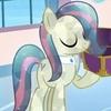 Bon Bon As A Crystal pony