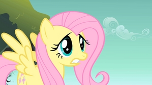 Fluttershy worried about Luna.