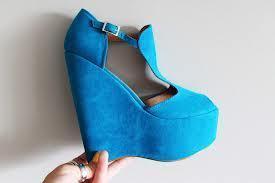 Aisha's party shoes