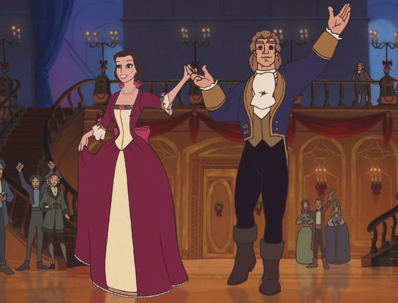 beauty and the beast_214668_6jpg - Christmas Belle Movie