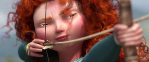 I am Merida, and I'll be shooting for my own hand!