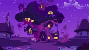 Twilight's house